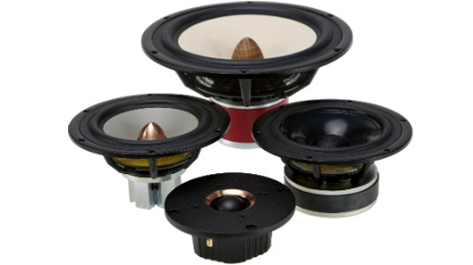 Seas speaker drivers: Prestige, Excel, Exotic, Lotus, Design